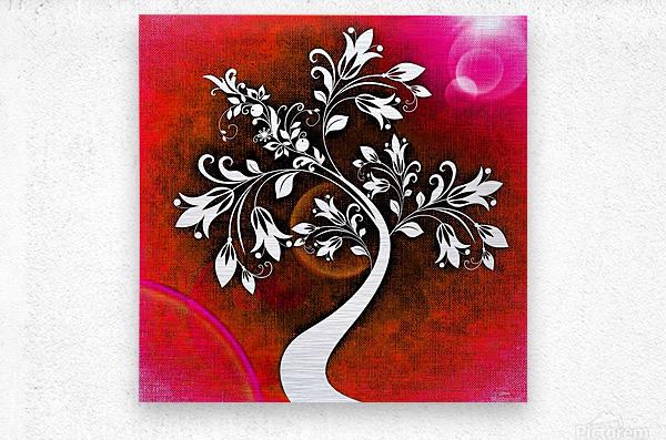 FLOWER TREE 03_OSG  Metal print
