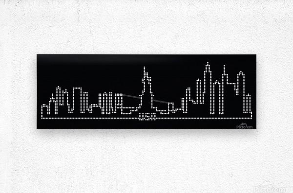 Pixel U.S.A.  Metal print