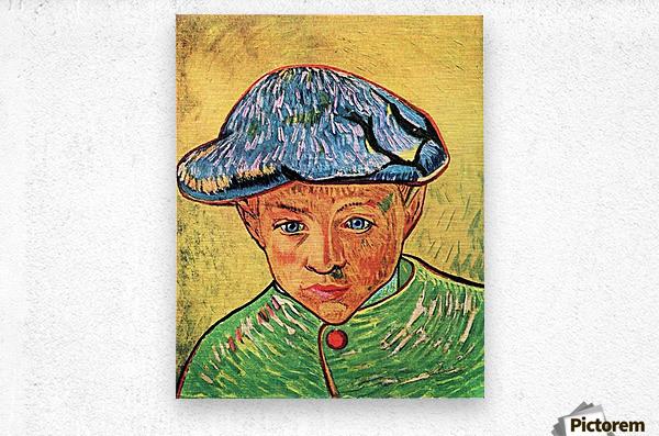 Camille Roulin by Van Gogh  Metal print