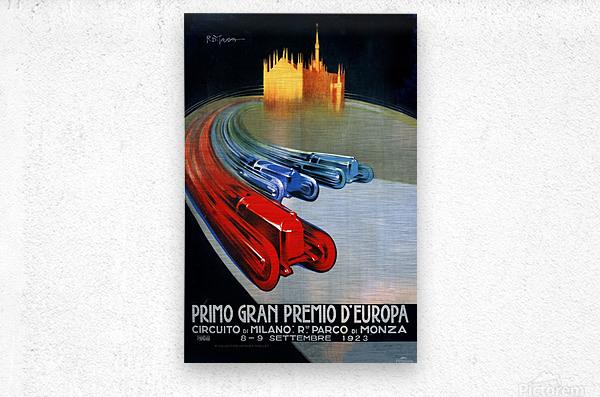 Europe Grand Prix Primo Gran Premio D Europa Circuito Milano Monza 1923  Metal print