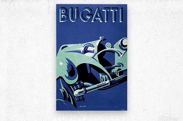 Bugatti Type 50 Super Roadster 1932  Metal print