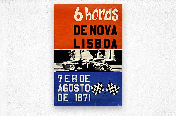 6 Hords De Nova Lisboa Huambo 1971  Metal print