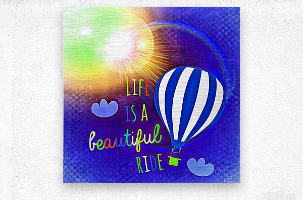Beautiful Life 03_OSG  Metal print