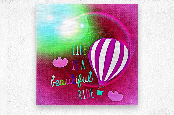 Beautiful Life 06_OSG  Metal print