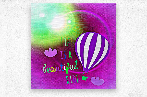 Beautiful Life 05_OSG  Metal print
