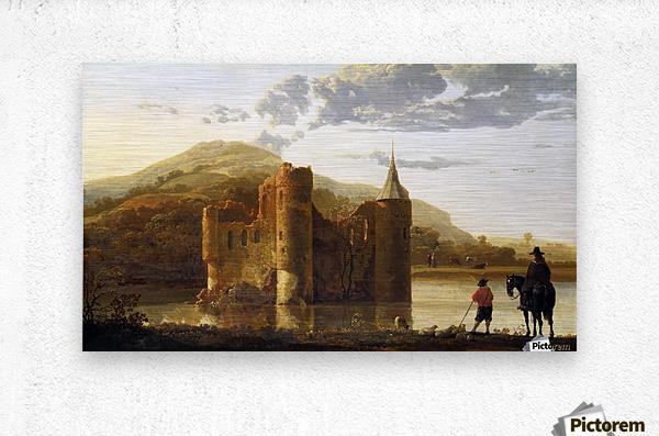 Ubbergen Castle  Metal print