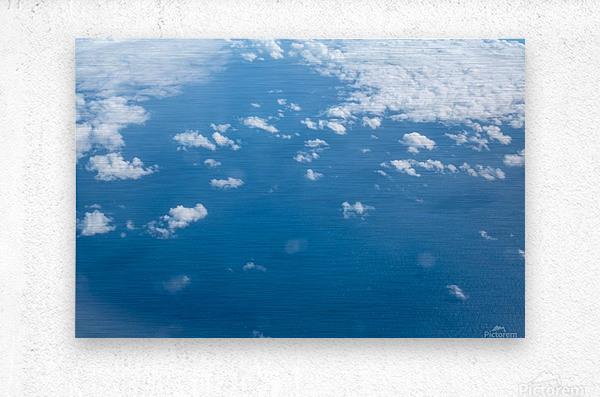 Océan Atlantique  Impression metal