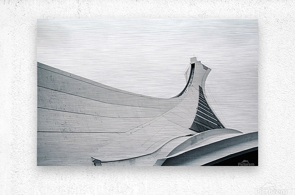 Stade Olympique  Impression metal