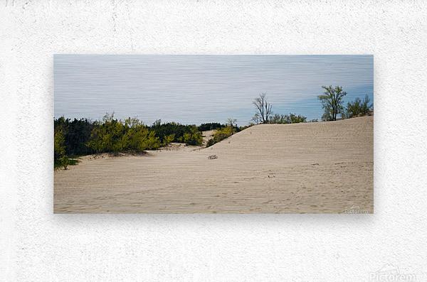 Sandbanks 1  Impression metal