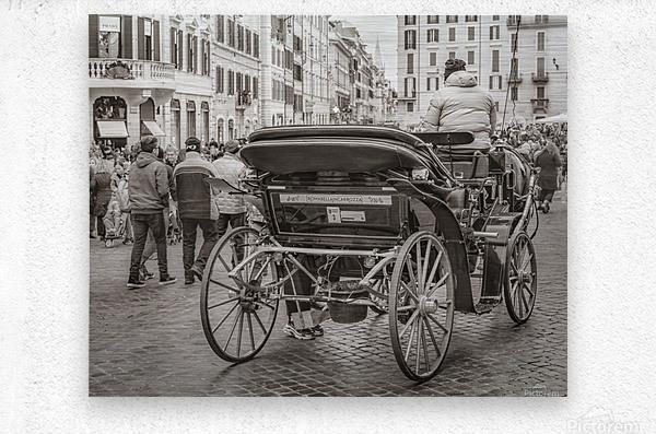Piazza di Spagna   Rome, Italy  Metal print