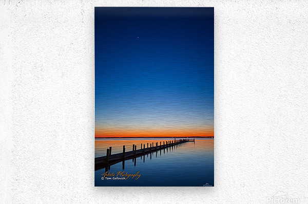 Sunset - APC-129  Metal print