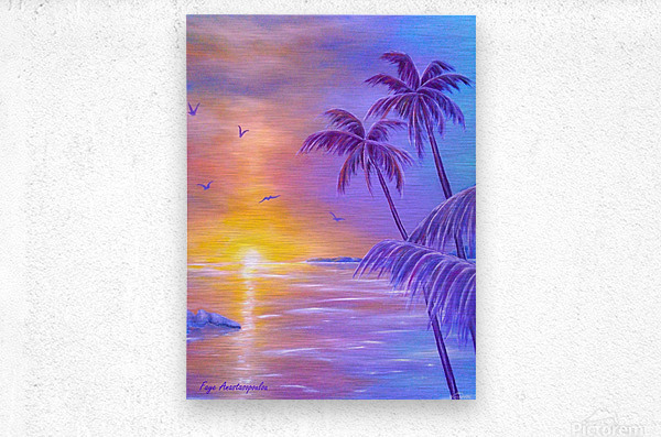Tropical Breeze  Metal print