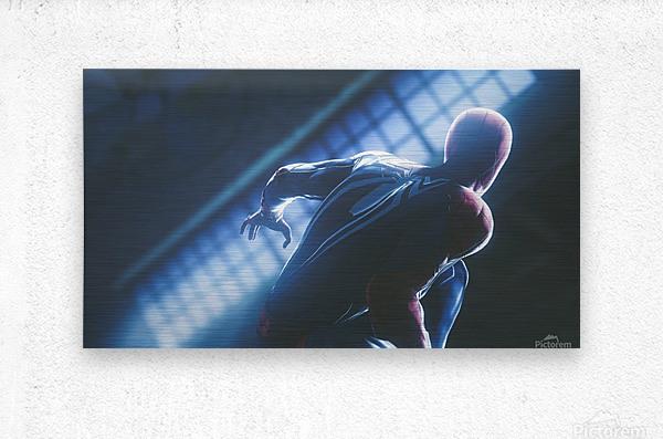 Marvels Spider-Man  Metal print