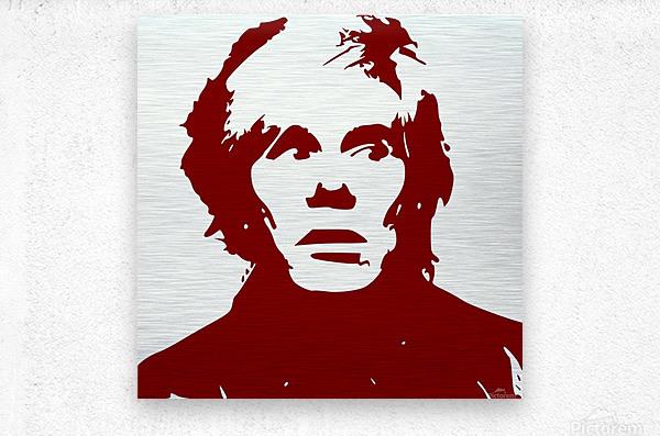 Andy Warhol  Metal print
