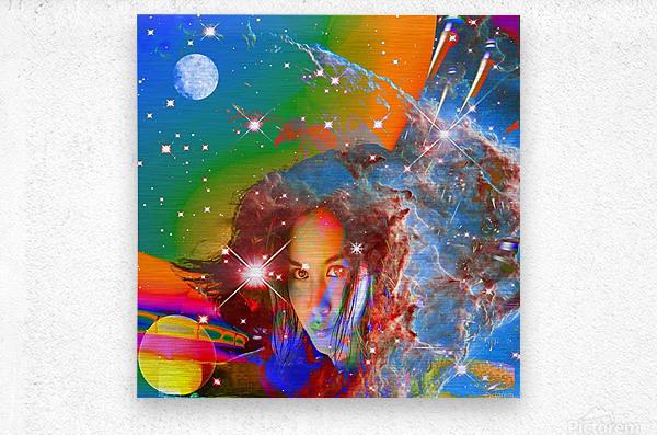 Cosmic Dream  Metal print