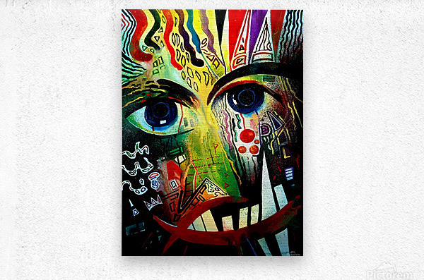 Expressionism 2  Metal print