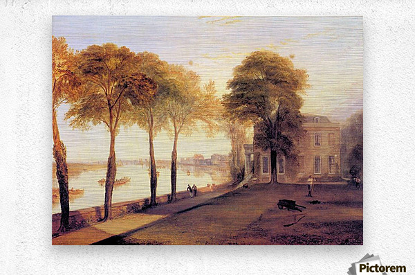 Home of William Moffatt by Joseph Mallord Turner  Metal print