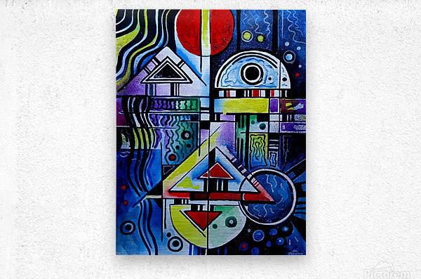 Love 1  Metal print