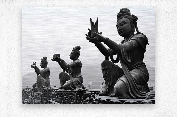 Offer for Buddha  Metal print