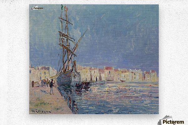 The Martigues, the Port of Ferriere  Metal print