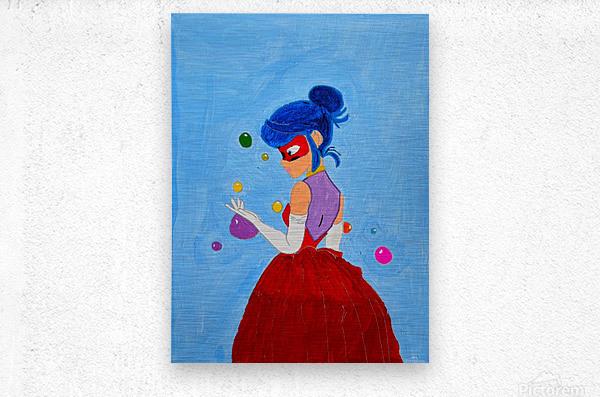 Elegant Ladybug. DaVere h.  Metal print