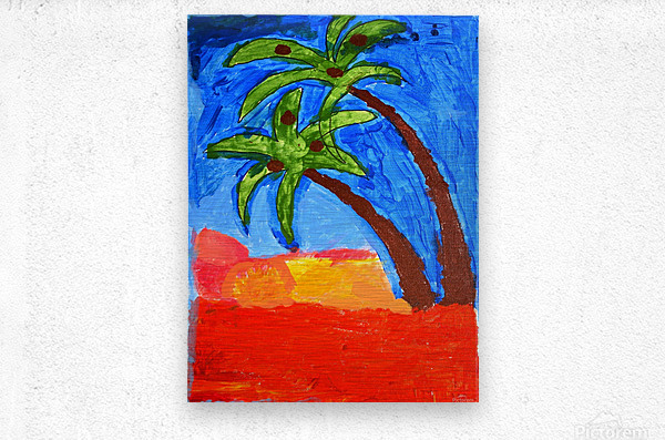 Beach. Brenda N  Impression metal