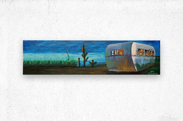 Airstream by Nancy D.  Impression metal