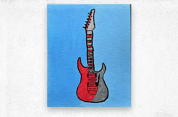 Rock N Roll. Glenn N.  Metal print