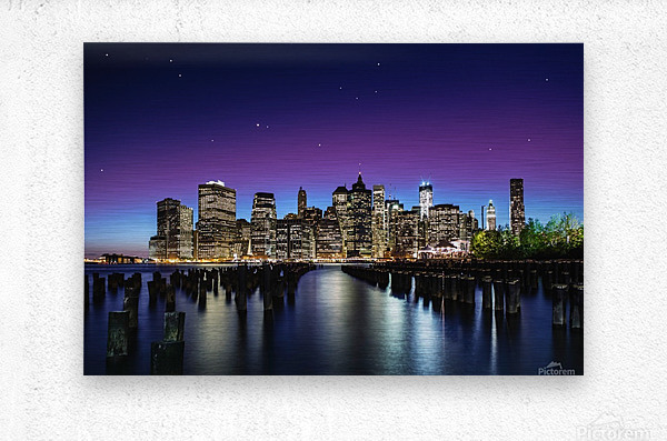New York Sky Line  Metal print