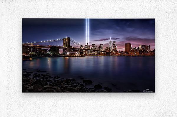 Unforgettable 9-11  Metal print