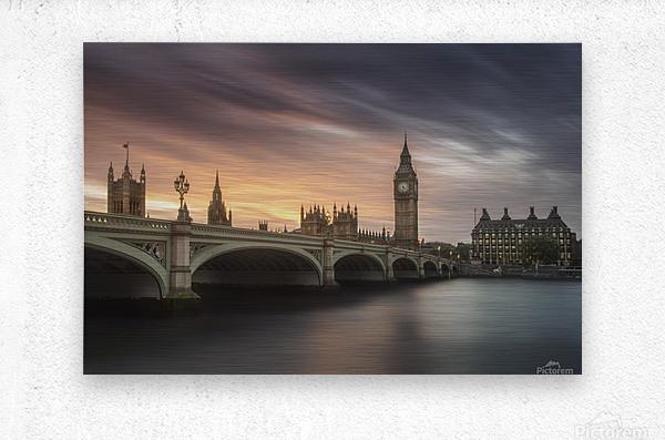 Big Ben, London  Metal print
