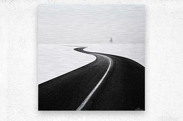 Road I  Metal print