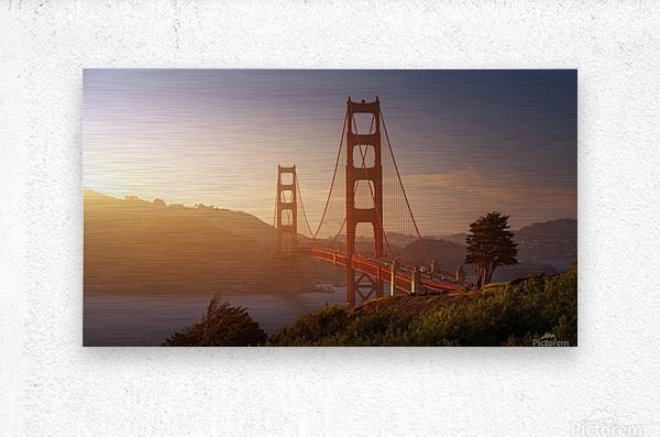 South Golden Gate.  Metal print