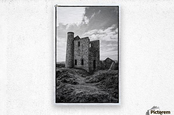 Tin Mine Cornwall  Metal print