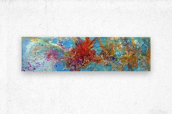 Azure  Metal print