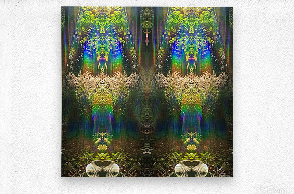 The Grand Entrance  Metal print