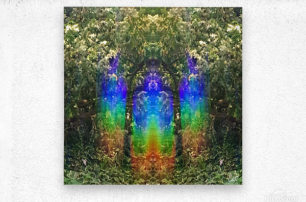 Light Guardians  Metal print