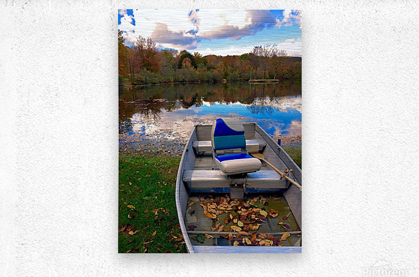 Shartlesville Dinghy  Metal print