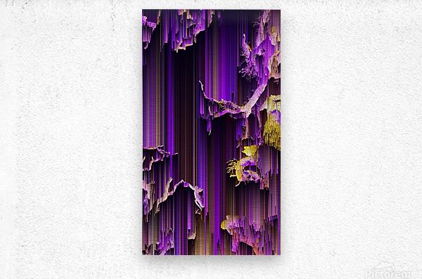 trees up  Metal print