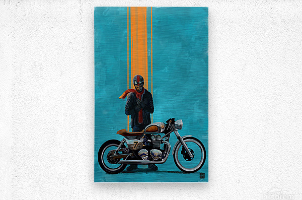 caferacer  Metal print