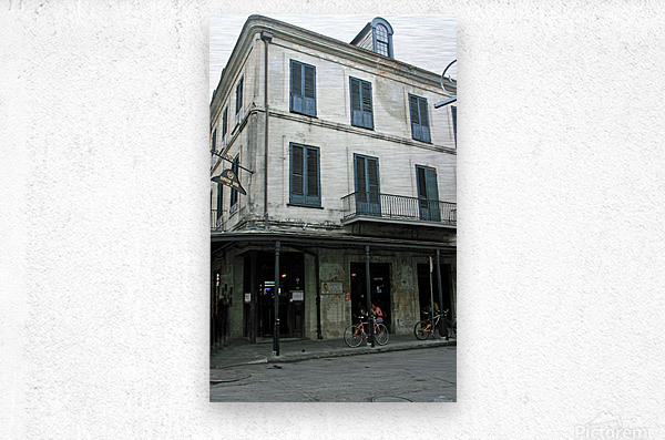New Orleans Napoleon House  Metal print