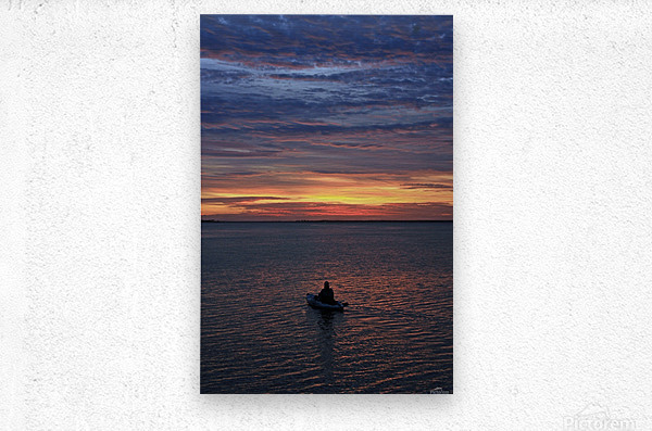Calm for the Inner You  Metal print