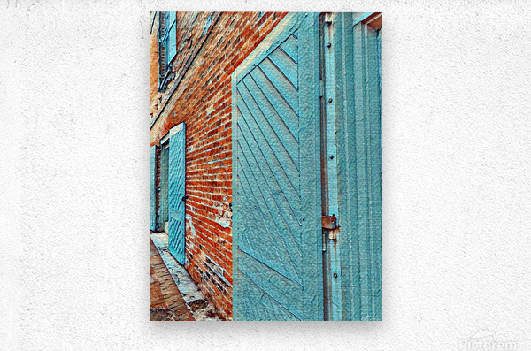 Outdoor I  Metal print
