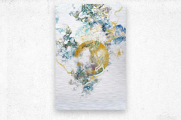 Natures Call - Abstract Painting III  Metal print