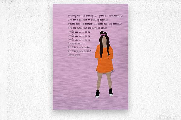 Jessie Reyez  Metal print