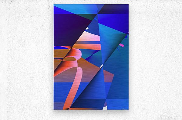 origami PII 12.9a3 18  Metal print