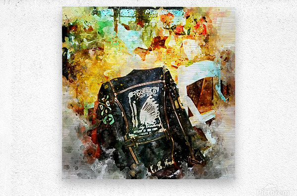 Jackson Hole Jacket  Metal print