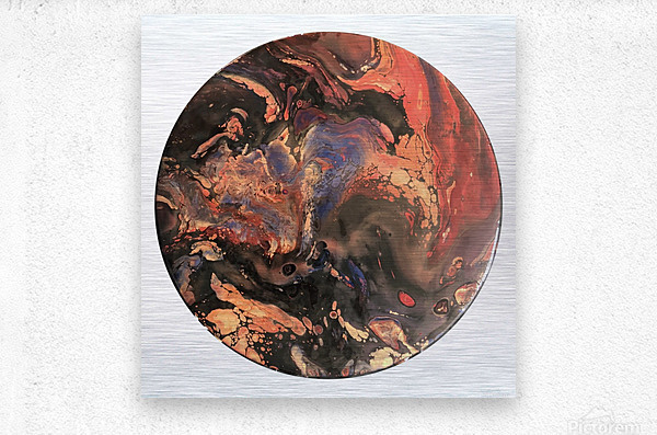 Lava  Metal print