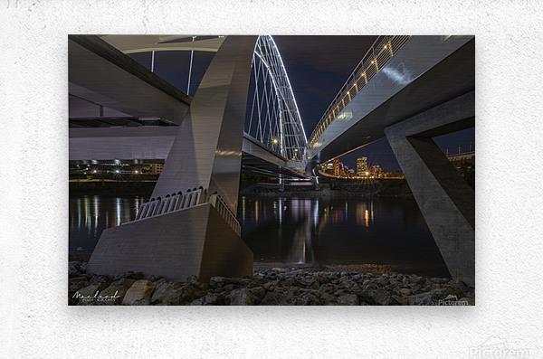 WalterdaleBridge_DSC4252  Metal print