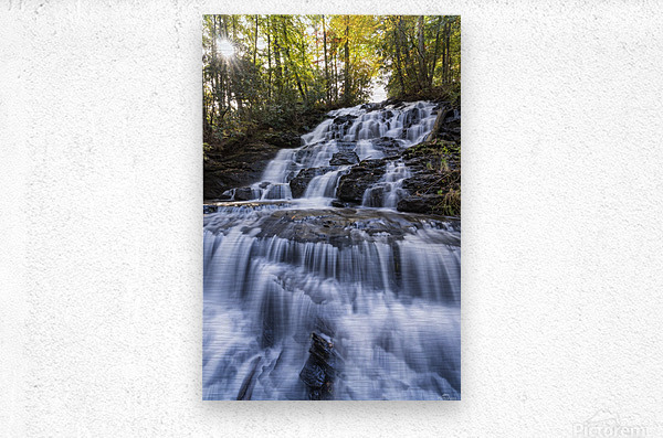 Trahlyta Waterfall  Metal print